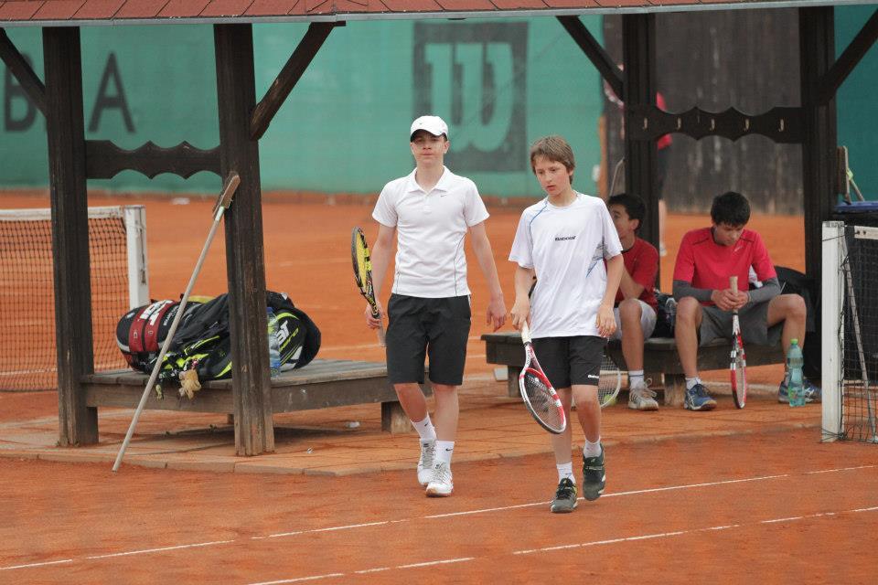 С Miomir Kecmanovic, первый матч
