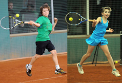 Победители турнира - Алексей Захаров и Олександра Андреева (Украина)