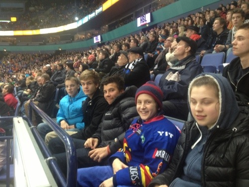JNTA at Jokerit Vs Assat Hockey Game
