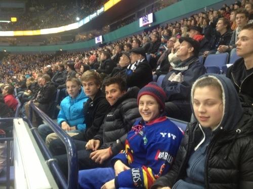 JNTA at Jokerit Vs Assat Hockey Game