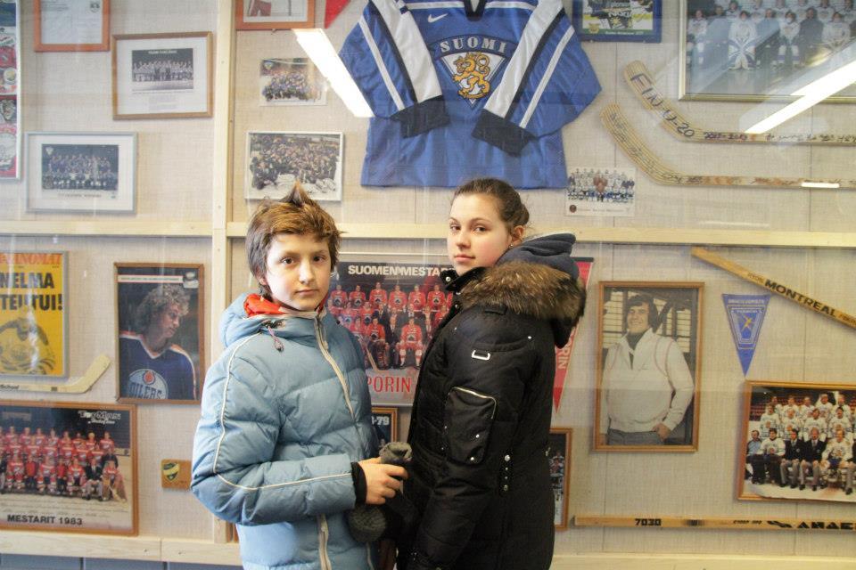 В музее хоккея