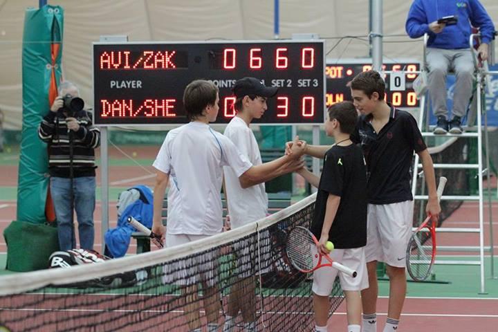 Мы выиграли этот турнир, переиграв в финале Шевченко Сашу и Данилова Савву со счетом 6-2 6-3.