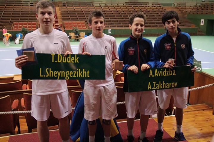 В паре с Аленом мы заняли 2 место, в финальном поединке проиграли Шейнгезихту Л- Gugek T из Польши со счетом 6-7 (7) 6-4 7-10.