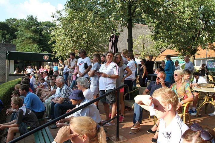 Много болельщиков на Windmill Cup 2014