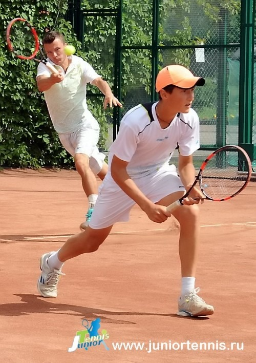 There was a Russian Championship under 16 held in Moscow in June this year I got 3rd title in a row in doubles with my partner  Michael Sokolovsky. In finals we played against Bolotov S./Noskin E. The score was 76 (3) 64.