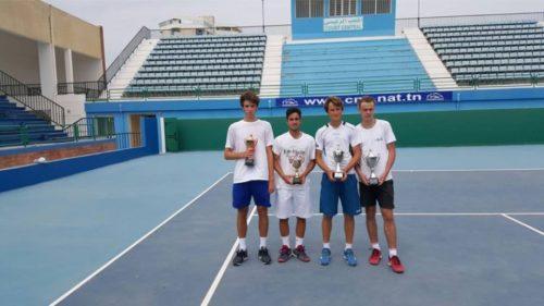 Не смотря на поражение в первом круге на двух турнирах 2 категории во Франции, я все же смог собраться и хорошо выступить в Тунисе, в турнире 3 категории. В одиночном разряде дошел до финала, уступив Simon Carr (Ирландия) 6-2/ 6-4, а вместе с украинским партнером Владом Лобак мы завоевали титул, переиграв португальскую пару Salvador Bandeira/Martim Vilela со счетом 6-3/6-4.