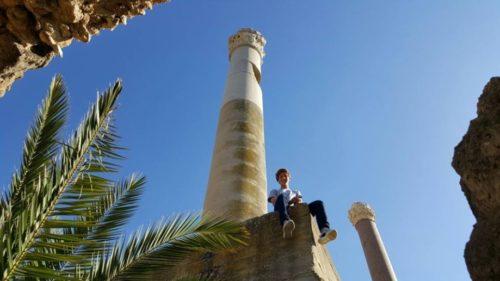 Я впервые в Тунисе и очень рад, что удалось побывать на руинах легендарного Карфагена, основанного в 841 г до нашей эры. Это уникальное место, которое позволяет взглянуть на историю, представить как жили люди до нашей эры, какие прекрасные здания создавали и какая культура царила в их время.