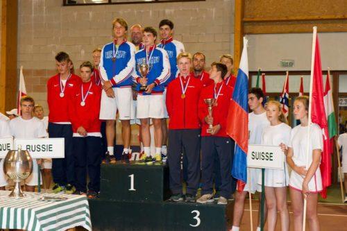 Награждение: 1 место - Россия, 2 место -Чехия, 3 место - Швейцария