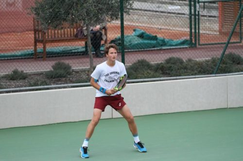 Мои занятия в Mouratoglou Tennis Academy