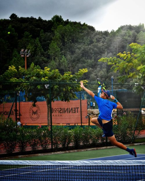 Alex Zakharov in Mouratoglou Tennis Academy