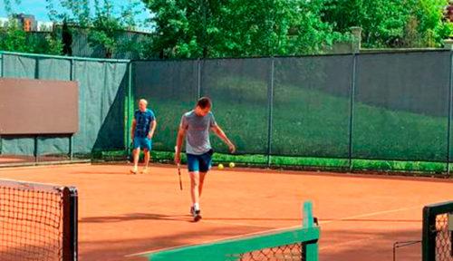 Тренировки с Андреем Чесноковым в теннисном клубе Сколково
