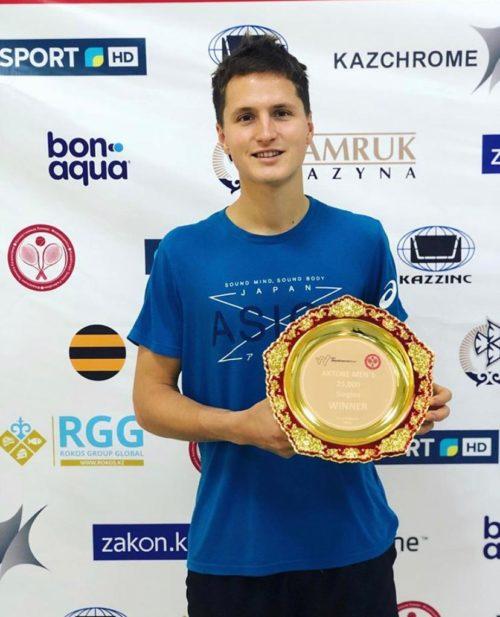 Алексей Захаров: Это третий титул в моей профессиональной карьере в турнирах категории фьючерс и первый в этом году.