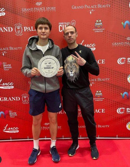 В настоящее время тренер по общей физической подготовке Александр Мишин.