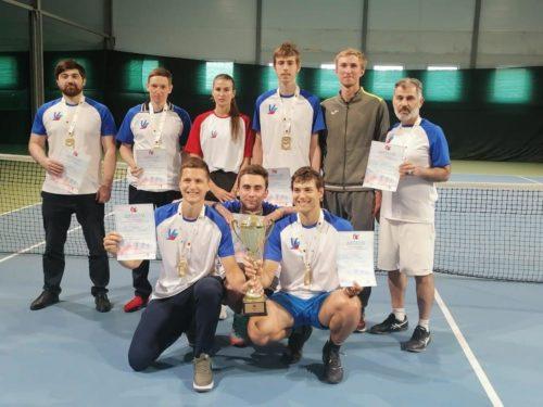 Был рад участвовать в составе Сборной команды кафедры тенниса в XXXII Московских студенческих играх